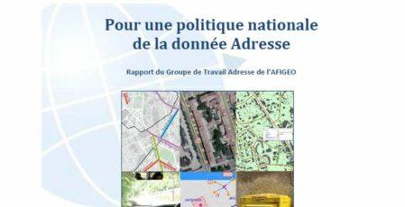 Visuel Afigéo - Rapport - Pour une politique nationale de la donnée Adresse
