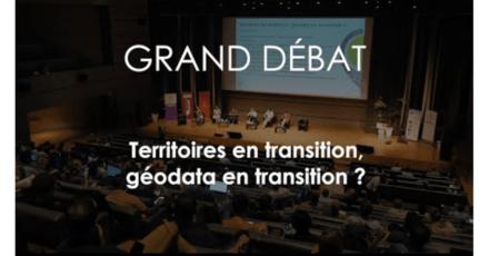 Grand débat : territoires en transition - GéoDataDays 2020